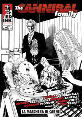 The Cannibal Family copertina BIANCA