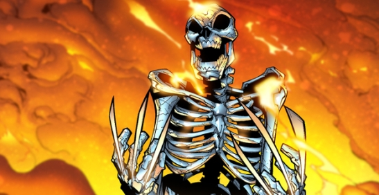 Wolverine-skeleton